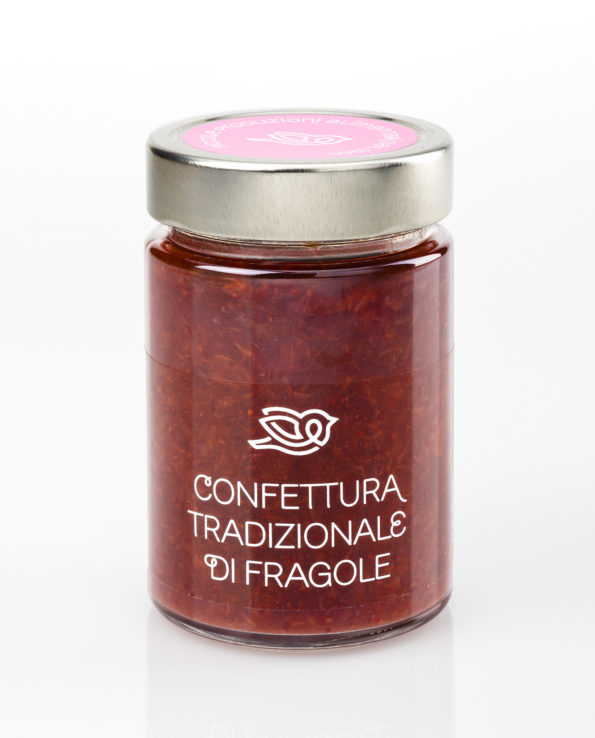 Confettura tradizionale di Fragole