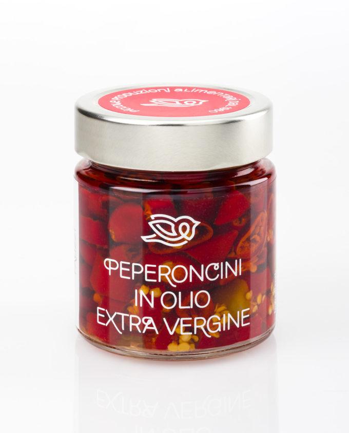 Peperoncini in olio extra vergine